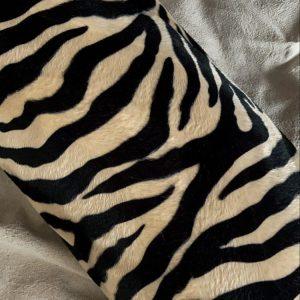 Kussensloop 'Pluche Zebra'