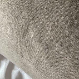 Kussensloop lichaamskussen, katoen-linnen, beige