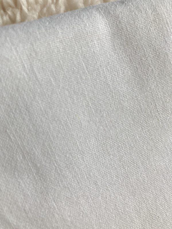katoen-linnen wit